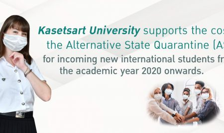 Kasetsart University supports the cost for the ASQ